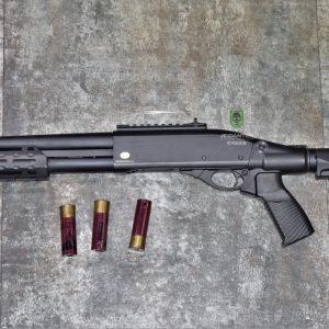 鬥牛士 MATADOR 金鷹 M870 Marui系統 三發型泵動式瓦斯霰彈槍 黑色 RNGSSG6B