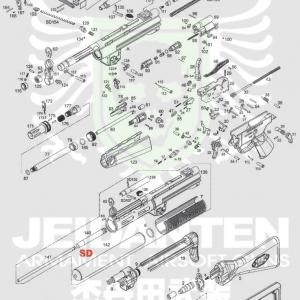 WE Apache 阿帕契 MP5 SD1 SD3 A2 A3 A2PDW 原廠零件 爆炸圖 零件下標區