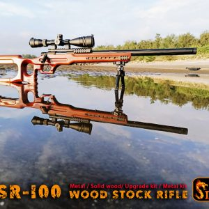 SLONG 神龍 WSR-100 WSR100手拉空氣狙擊槍 Marui VSR10系統 全金屬實木 SL-SP-WSR-100