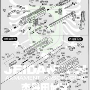 WE SMG-8 SMG8 原廠零件 爆炸圖 零件下標區