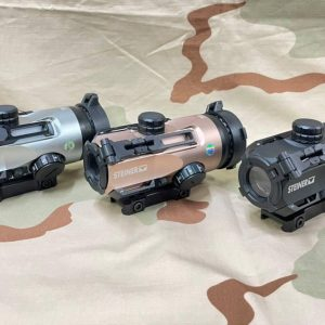 STEINER S432 復刻瞄具 類ACOG 紅點 4倍瞄準鏡 加大鏡框 寬軌 黑沙灰 ST-S432