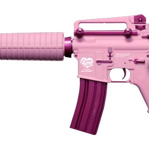 G&G 怪怪 M4 FF16 後座力 AEG 電動槍 步槍 長槍 粉紅色 GG-FF16-PK
