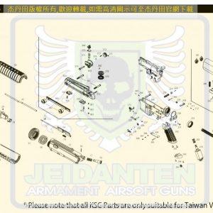 KWA/KSC M4系列 M4A1 ERG 後座力 電動槍 維修 原廠零件 訂購區