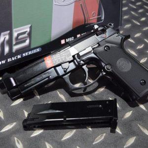 WE M9A1 GBB 新版 單連發 瓦斯手槍 WE-M9A1-BK